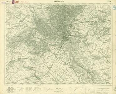 III. vojenské mapování 4758