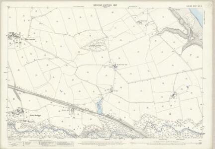 Durham XXIX.13 (includes: Hart; Monk Hesleden; Nesbitt) - 25 Inch Map