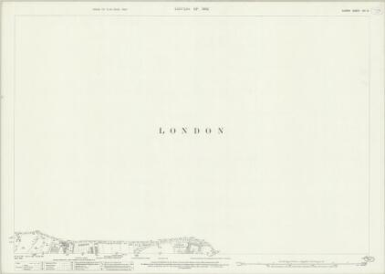 Surrey VIII.10 (includes: Camberwell; Croydon St John The Baptist; Lambeth St Mary) - 25 Inch Map