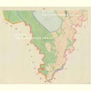Blauda (Bludoff) - m0118-1-008 - Kaiserpflichtexemplar der Landkarten des stabilen Katasters