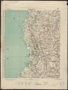 Carte d'ensemble de Madagascar. Morondava