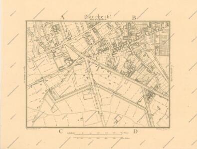 La Topographie de Paris ou Plan détaillé de la Ville de Paris 16
