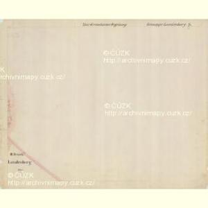 Lunderburg - m0243-1-015 - Kaiserpflichtexemplar der Landkarten des stabilen Katasters