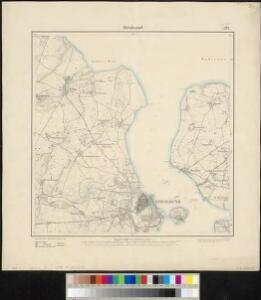 Meßtischblatt 372, neue Nr. 1644 : Stralsund, 1886