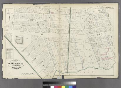 Plate 11: Part of Wards 9 & 24. City of Brooklyn.