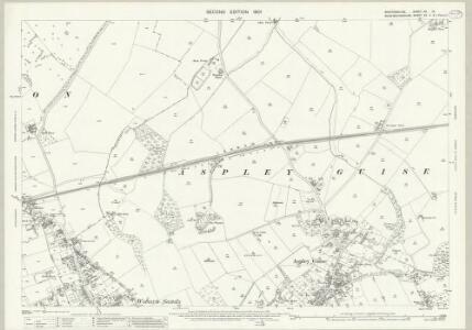 Bedfordshire XX.15 (includes: Aspley Guise; Husborne Crawley; Wavendon; Woburn Sands) - 25 Inch Map
