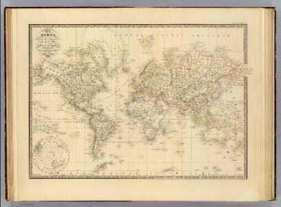 Terre, Mercator proj.