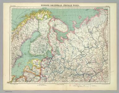 Europe Orientale, Feuille Nord.