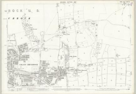 Essex (1st Ed/Rev 1862-96) LXXXIII.12 (includes: Thurrock) - 25 Inch Map