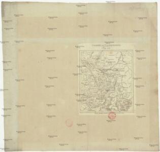 Charte von Wesergebirge