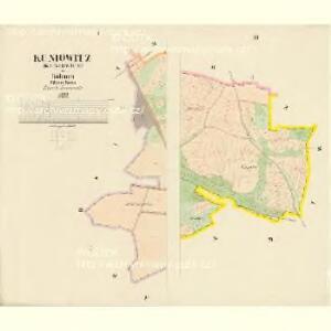 Kuniowitz (Kuniowice) - c3706-1-001 - Kaiserpflichtexemplar der Landkarten des stabilen Katasters