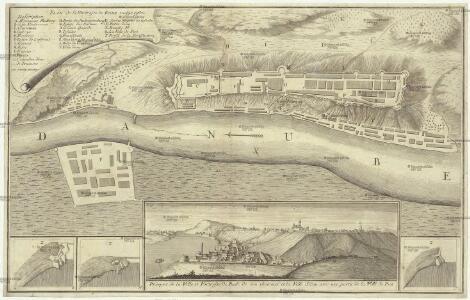 Plan de la fortresse de Bude vulgo Ofen