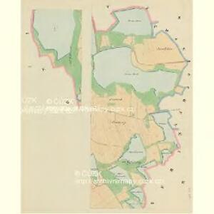 Duben - c1598-1-001 - Kaiserpflichtexemplar der Landkarten des stabilen Katasters