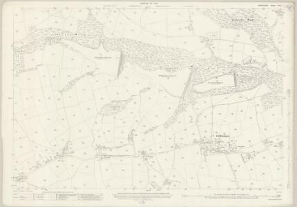 Derbyshire XXIV.4 (includes: Brampton) - 25 Inch Map