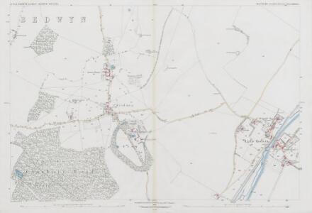 Wiltshire XXXVII.1 (includes: Great Bedwyn; Little Bedwyn) - 25 Inch Map