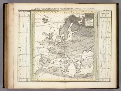 Botanisch-Geographisch-Statistische Karte Von Europa.