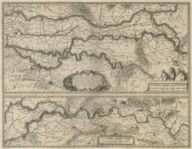 Tractus Rheni et Mosae totusq; Vahalis à Rhenoberca Gorcomium