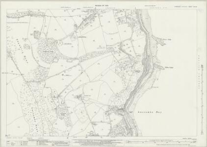 Hampshire and Isle of Wight XCIX.9 (includes: Sandown Shanklin; Ventnor) - 25 Inch Map