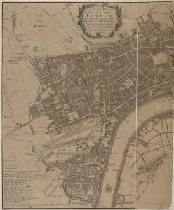 A New and Exact Plan of the City of LONDON and Suburbs thereof, With the addition of the New Buildings, Churches &c. to this present Year 1720 (Not extant in any other)