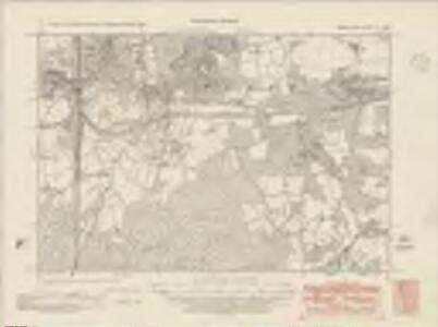 Sussex IV.SW - OS Six-Inch Map
