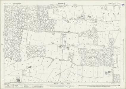Hertfordshire XXXVI.15 (includes: Brickendon Liberty; Cheshunt; Hoddesdon) - 25 Inch Map