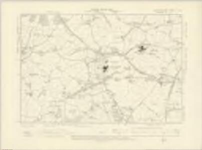 Worcestershire X.SW - OS Six-Inch Map