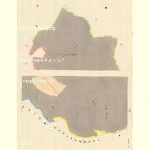 Kadrzin - m1130-1-001 - Kaiserpflichtexemplar der Landkarten des stabilen Katasters