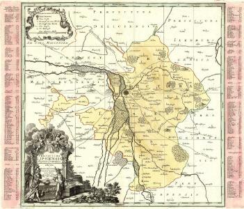 Praefectura Lipsiensis delineatione Geographica, ex observationibus accuratissimis descripta