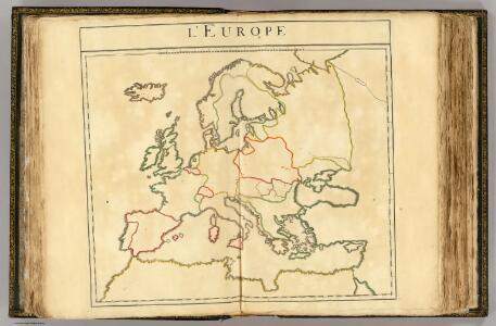L'Europe (les viles - outline).