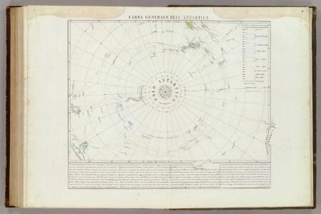 Carta generale del Polo Antartica