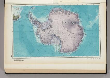 250.  Antarctica.  The World Atlas.