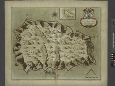 A new mapp of the Island of SAINT HELLENA