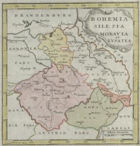 Bohemia Silesia Moravia et Lvsatia