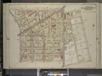 Brooklyn, Vol. 3, Double Page Plate No. 17; Part of   Wards 15, 17 & 18, Sections 9 & 10; [Map bounded by Engert Ave. (Van Pelt Ave.), Morgan Ave.; Including Maspeth Ave., Skillman Ave., Manhattan Ave.]