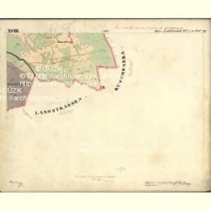 Lichtbuchet Ober - c2161-1-030 - Kaiserpflichtexemplar der Landkarten des stabilen Katasters