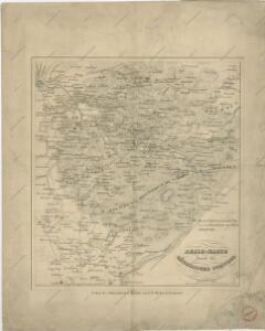 Reise - Karte durch die Sächsische Schweiz