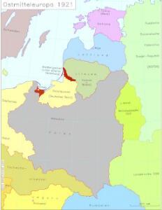 Ostmitteleuropa 1921