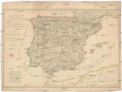 Die Königreiche Spanien und Portugal nach den neuesten Beobachtungen verfast