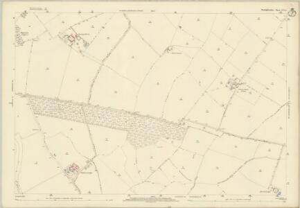 Huntingdonshire XIII.13 (includes: Buckworth; Hamerton; Leighton) - 25 Inch Map