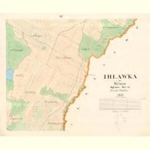 Ihlawka - m1102-1-004 - Kaiserpflichtexemplar der Landkarten des stabilen Katasters