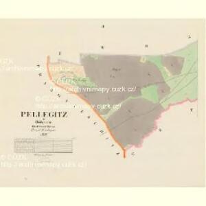 Pellegitz - c5689-1-002 - Kaiserpflichtexemplar der Landkarten des stabilen Katasters