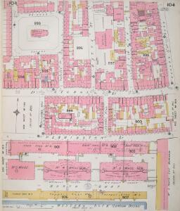 Insurance Plan of London Vol. V: sheet 104