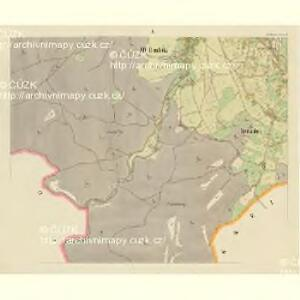 Alt Daubitz - c1452-1-010 - Kaiserpflichtexemplar der Landkarten des stabilen Katasters