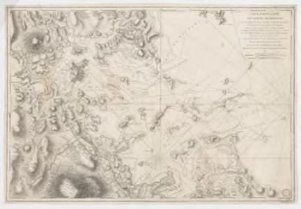 Carte particulière du havre de Boston : avec les sondes les bancs de Sable, les rochers les Amaies et les autres directions utiles à la navigation