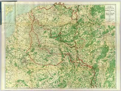 Map Western Front.