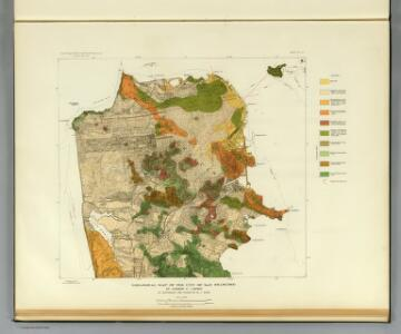 Geological map San Francisco.