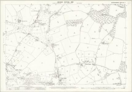 Buckinghamshire XLVI.3 (includes: Fingest and Lane End; West Wycombe Rural) - 25 Inch Map