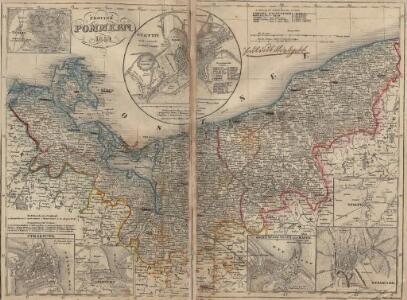 Provinz Pommern. 1859