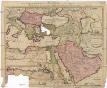 [Es]tats de l'empire du Grand Seigneur des Turcs [en] Europe, en Asie, et en Afrique