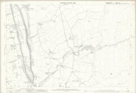 Westmorland XL.1 (includes: Firbank; Sedbergh) - 25 Inch Map